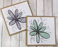 PaperArtsy Mounted Rubber Stamp Set JOFY Collection 93 - JOFY93